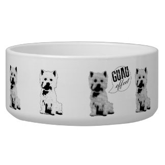 GUAU Effekt große Haustier-Schüssel Hundefutter-Napf