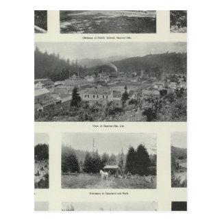 Guerneville, Kalifornien Postkarte