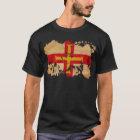Guernsey-Flagge T-Shirt