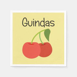 Guindas (Kirschen) Papierserviette