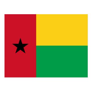 Guinea-Bissau Flaggen-Postkarte Postkarte