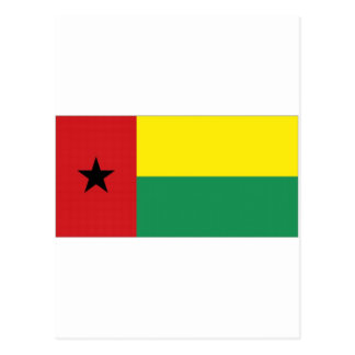 Guinea-Bissau Staatsflagge Postkarte