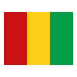 Guinea-Conakry Flaggen-Postkarte Postkarte