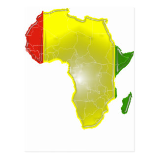 Guinea Postkarte