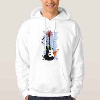 Guitar Music Sweatshirt À Capuche
