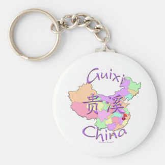 Guixi Chine Porte-clef