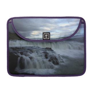 Gulfoss Wasserfall, Island Sleeve Für MacBook Pro