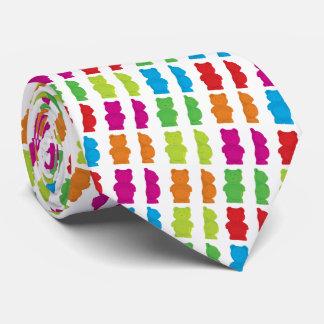 Gummiartige Bärn-Krawatte Individuelle Krawatte