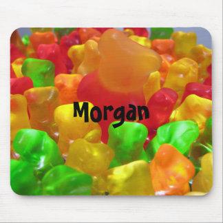 Gummiartige Bärn-Menge Mousepads