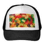Gummiartiger Bärn-Regenbogen farbige Süßigkeit Retrokultkappen
