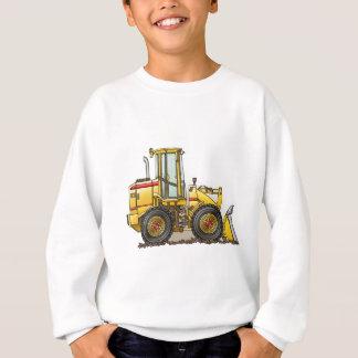Gummireifen-Lader-Baugeräte Sweatshirt