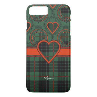 Gunn-Clan karierter schottischer Tartan iPhone 7 Plus Hülle