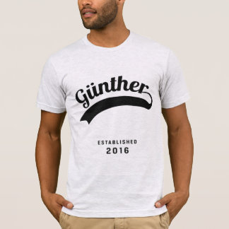 Günther Original Shirt