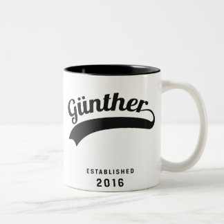 Günther Original Tasse