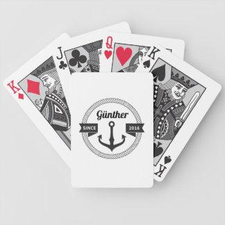 Günther Sailor Spielkarten