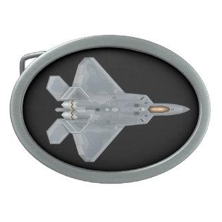 Gürtelschnalle des Raubvogel-F-22