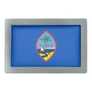 Gürtelschnalle mit Flagge von Guam
