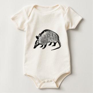 Gürteltier Baby Strampler