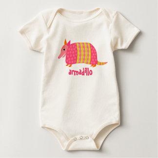 Gürteltier-Baby-T-Stück Baby Strampler