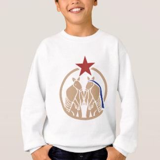 Gürteltier-Hochzeit - Texas-Liebe Sweatshirt
