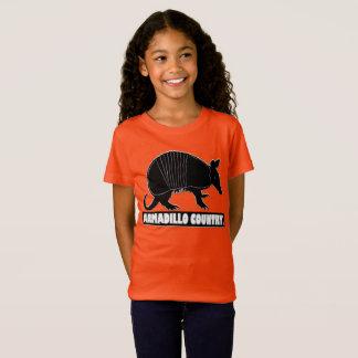 Gürteltier-Tierdesigner scherzt Kleidungs-Verkauf T-Shirt