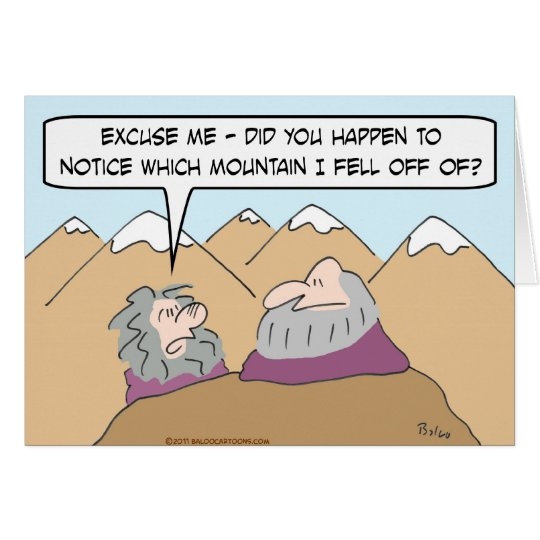Guru fiel weg vom Berg Karte