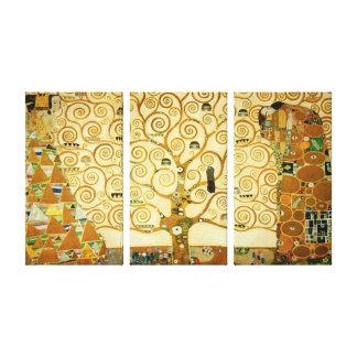 Gustav Klimt der Baum der Leben-Vintagen Kunst Gespannte Galeriedrucke