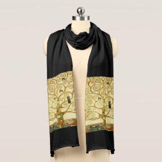 Gustav Klimt der Baum der Leben-Vintagen Kunst Schal
