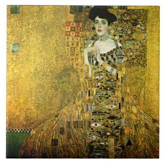 Gustav Klimt die goldene Dame Ceramics Fliese