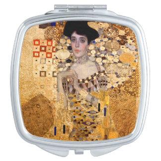 Gustav Klimt, Porträt 1907 von Adel Bloch Bauer. Taschenspiegel