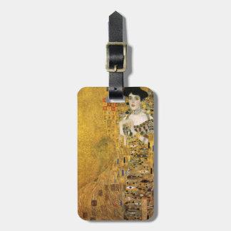 GUSTAV KLIMT - Porträt von Adele Bloch-Bauer 1907 Kofferanhänger