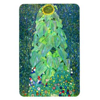 Gustav Klimt: Sonnenblume Magnet