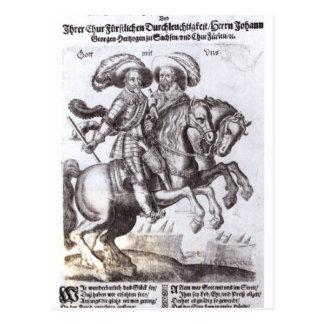 Gustavus Adolphus II und Gustavus Adolphus IV Postkarte