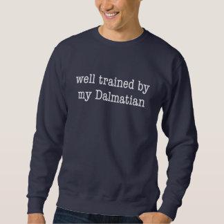 Gut ausgebildet durch meinen Dalmatiner Sweatshirt