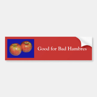 Gut für schlechten Hambres Autoaufkleber