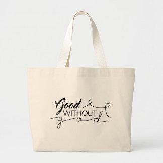 Gut ohne Gott Jumbo Stoffbeutel