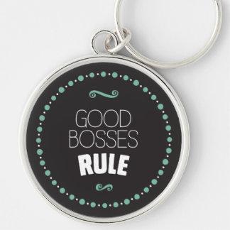 Gute Chef-Regel - Schwarzes Schlüsselanhänger