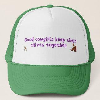 Gute Cowgirls behalten ihr…. Truckerkappe