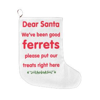 gute Frettchen Großer Weihnachtsstrumpf