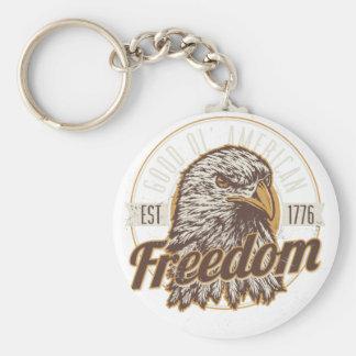 Gute Ol amerikanische Freiheit (Vintag) Schlüsselanhänger