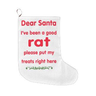 gute Ratte Großer Weihnachtsstrumpf