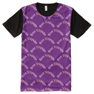 Gute Reise wölbt Muster P02 T-Shirt Mit Komplett Bedruckbarer Vorderseite
