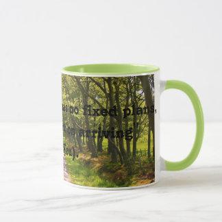 Gute Reisend-Zitat-Kaffee-Tasse (Lao Tzu) Tasse