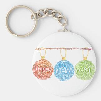 Guten Rutsch ins Neue Jahr-Dekorationen Keychain Schlüsselanhänger