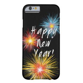 Guten Rutsch ins Neue Jahr-Feuerwerk Barely There iPhone 6 Hülle