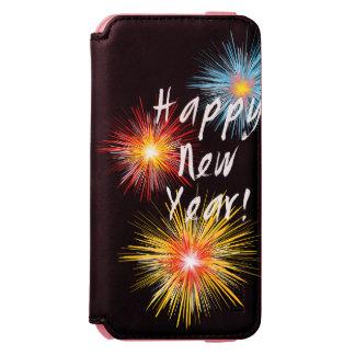Guten Rutsch ins Neue Jahr-Feuerwerk Incipio Watson™ iPhone 6 Geldbörsen Hülle