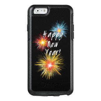 Guten Rutsch ins Neue Jahr-Feuerwerk OtterBox iPhone 6/6s Hülle