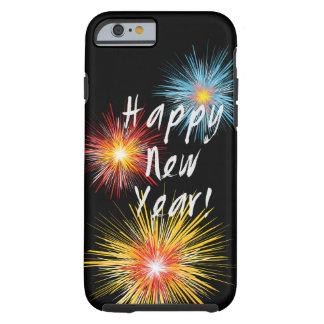 Guten Rutsch ins Neue Jahr-Feuerwerk Tough iPhone 6 Hülle