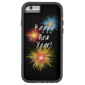 Guten Rutsch ins Neue Jahr-Feuerwerk Tough Xtreme iPhone 6 Hülle