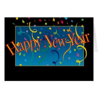 Guten Rutsch ins Neue Jahr-Karte
